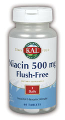 Flush Free Niacin 500mg 60 Tablet