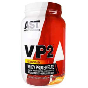 VP2 Whey Isolate 2 Lbs Citrus Splash