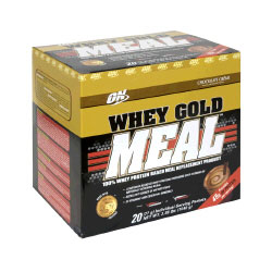 Whey Gold Meal 20 pack/3.38 Lbs Chocolate