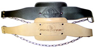 Leather Dipping Belt Pro19, Natural (one size)
