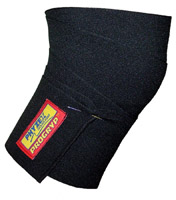 Knee Wraps Pro-11. Black (One Size)
