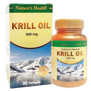 Krill Oil 500 mg 30 Softgles